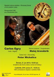 Koncert vážnej hudby @ Divadelná sála Domu kultúry Rimavská Sobota, Námestie Š. M. Daxnera, 979 01 Rimavská Sobota