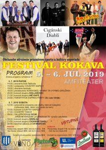 Festival Kokava 2019 @ Kokava nad Rimavicou - amfiteáter