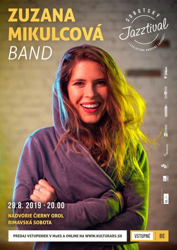 Zuzana Mikulcová Band @ nádvorie Čierny orol, Rimavská Sobota