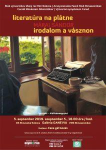 Sándor Márai - literatúra na plátne @ Galeria Ganevia v MsKS Rim.Sobota
