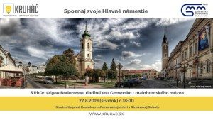 Spoznaj svoje Hlavné námestie @ KRUHÁČ coworking & startup center