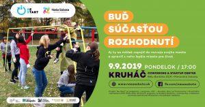 Buď Súčasťou rozhodnutí @ KRUHÁČ coworking & startup center, Bélu Bartóka 20/A, 979 01 Rimavská Sobota