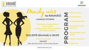 Dámsky večer na KRUHÁČI @ KRUHÁČ coworking & startup center