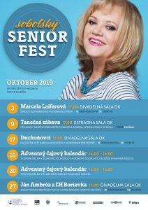 Ján Ambróz a ĽH Borievka / Seniorfest @ Divadelná sála Domu kultúry Rimavská Sobota