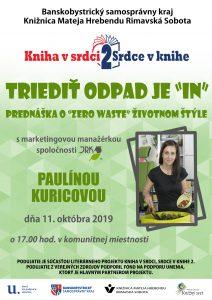 """Triediť odpad je """"IN"""" @ Knižnica Mateja Hrebendu, Hlavné námestie 8, Rimavská Sobota 97901"""