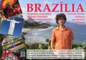Cestopisné kino Michala Chmeliara o Brazílii @ Mestská knižnica vo Fiľakove, Hlavná ul. 14