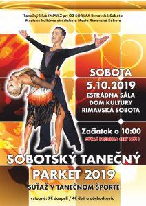 Sobotský tanečný parket 2019 @ Estrádna sála Domu kultúry Rimavská Sobota
