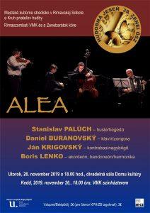 ALEA - koncert vážnej hudby @ divadelná sála DK Rim.Sobota