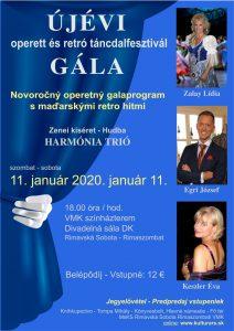 Novoročný galaprogram @ Divadelná sála Domu kultúry Rimavská Sobota, Námestie Š. M. Daxnera, 979 01 Rimavská Sobota