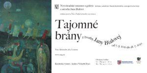 Jana Bialová – Tajomné brány @ Novohradské múzeum a galéria