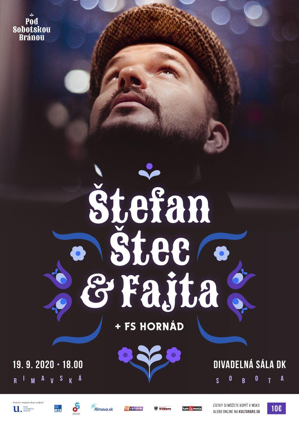 Štefan Štec & Fajta a FS Hornád @ Divadelná sála Domu kultúry Rimavská Sobota