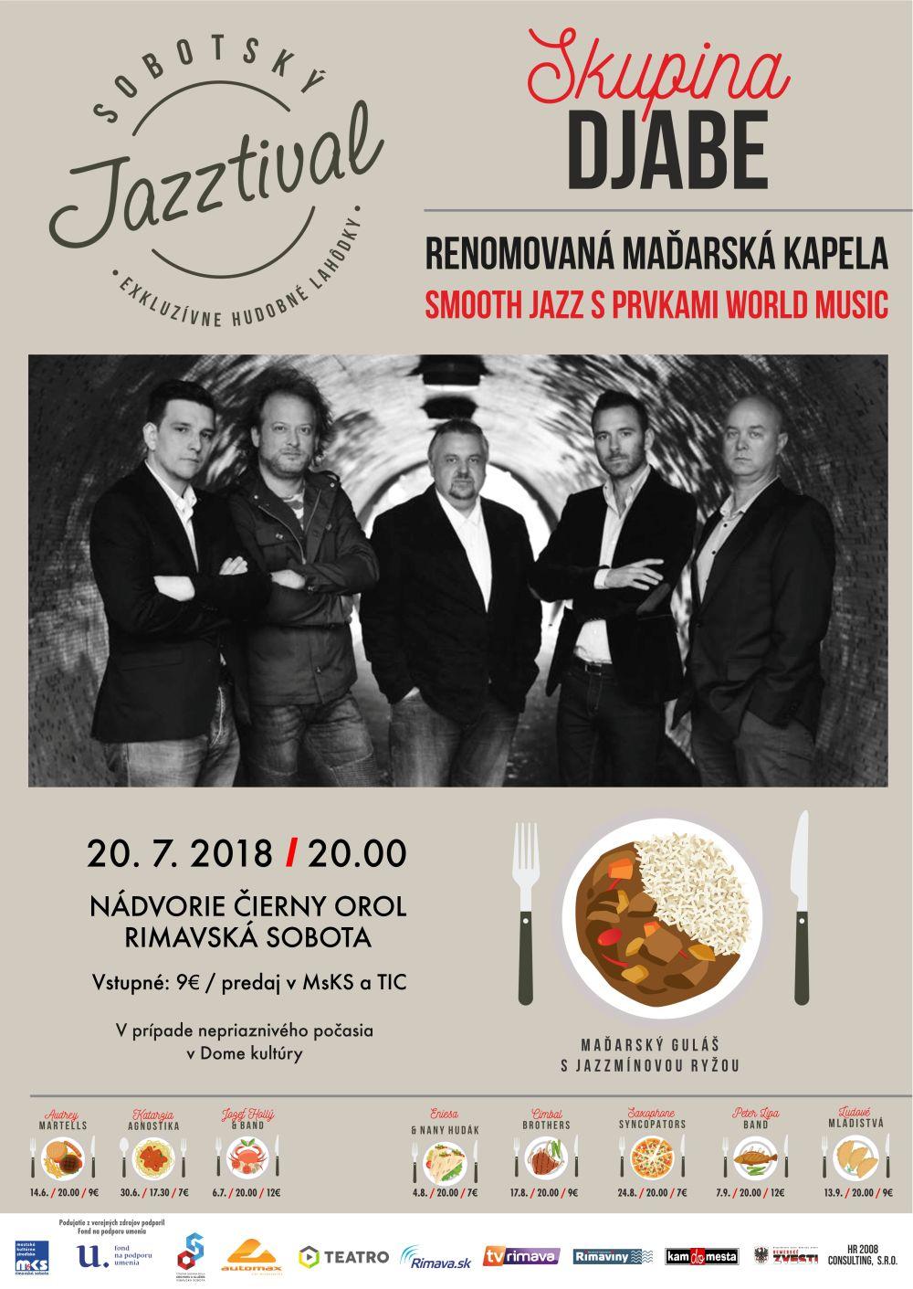 DJABE / HU / jazz @ Nádvorie Čierny orol Rimavská Sobota | Banskobystrický kraj | Slovensko
