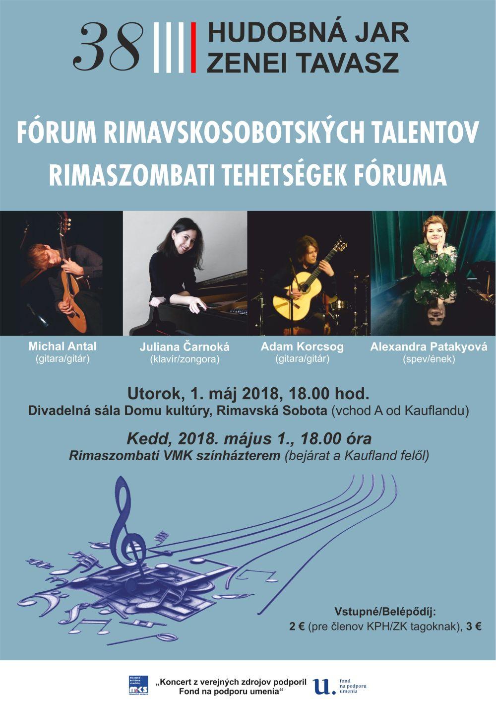 Forum rimavskosobotských talentov @ Divadelná sála Domu kultúry Rimavská Sobota | Banskobystrický kraj | Slovensko