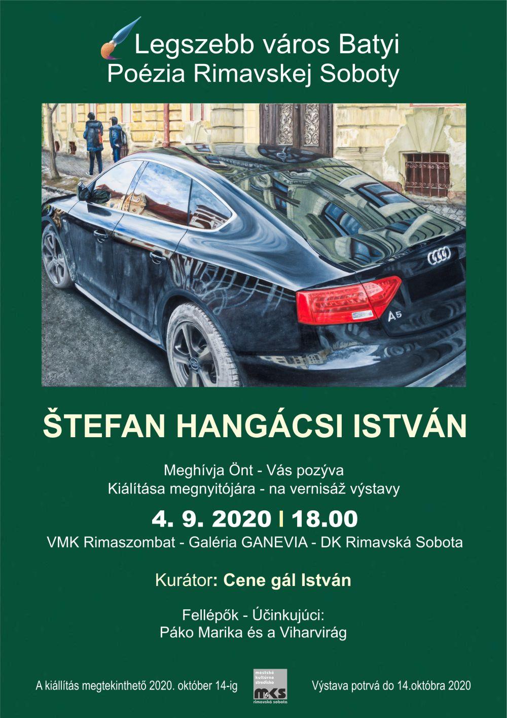 Výstava Istvána Hangácsi @ Galéria GANEVIA, Dom kultúry Rimavská Sobota