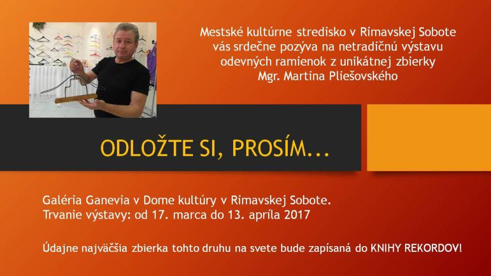 Raritná výstava vešiakov @ Galéria GANEVIA, Dom kultúry Rimavská Sobota   Slovensko