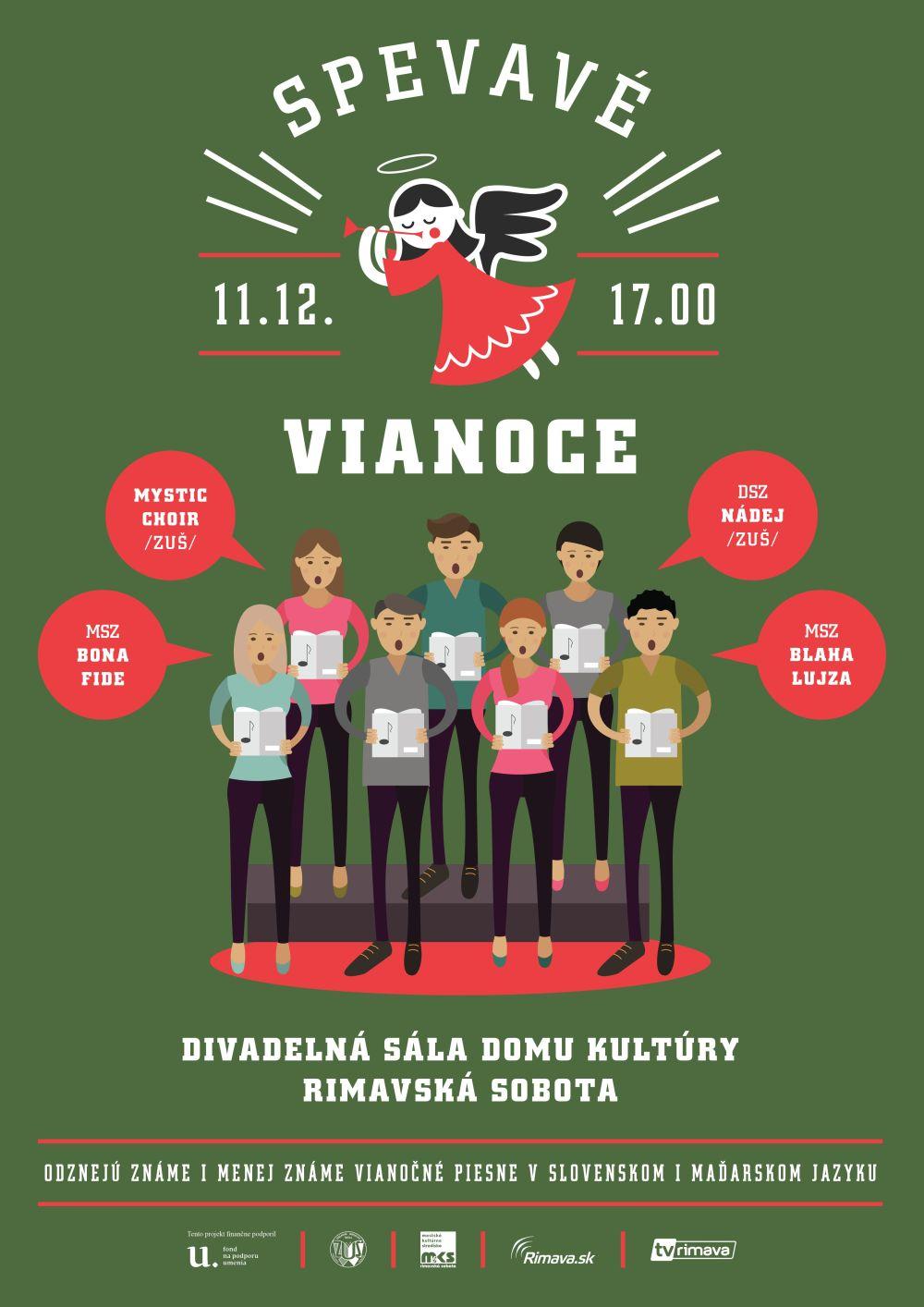 Spevavé Vianoce @ Divadelná sála Domu kultúry Rimavská Sobota | Slovensko