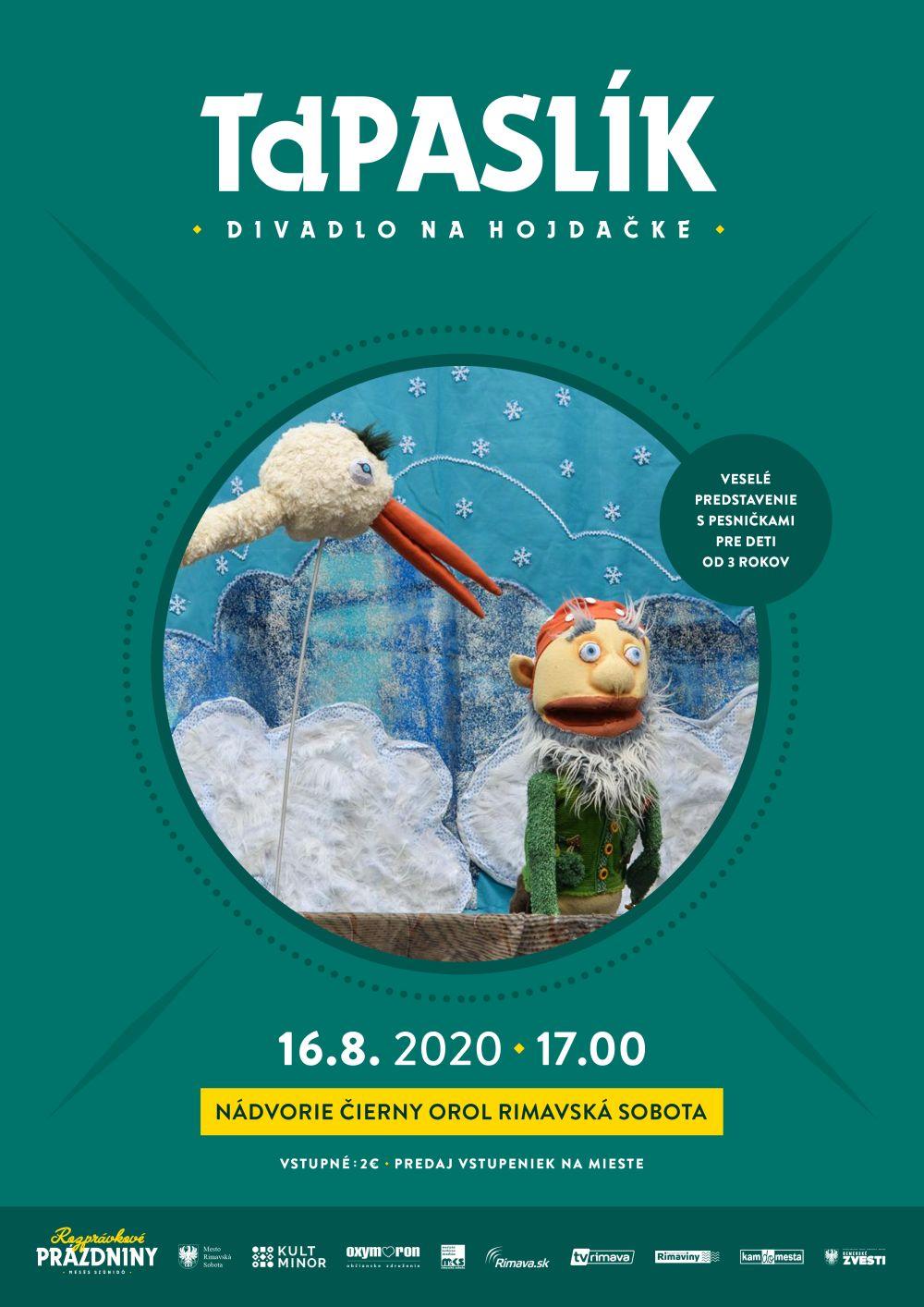 Divadlo na hojdačke: TdPaslík @ Nádvorie Čierny orol Rimavská Sobota