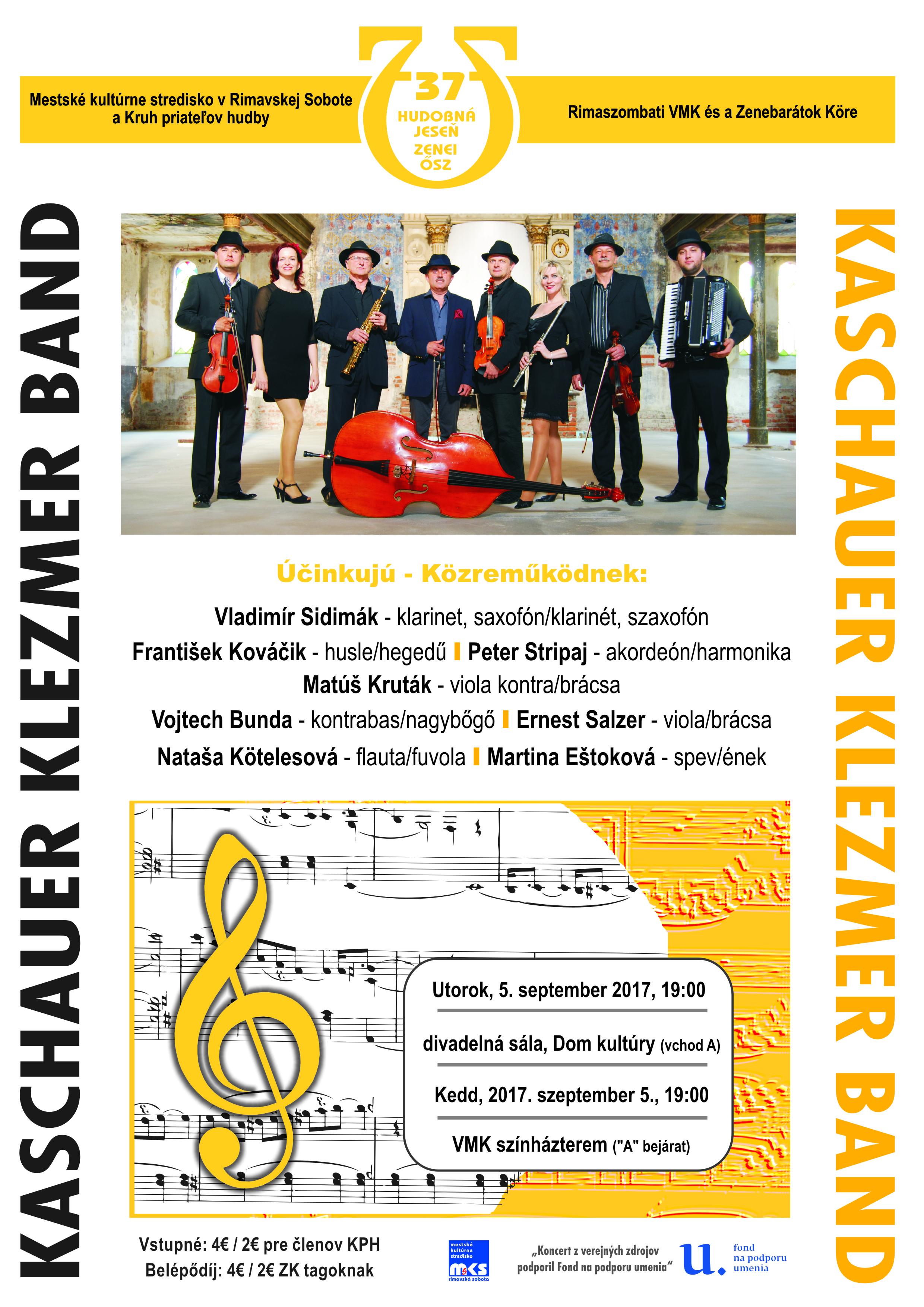 Kaschauer Klezmer Band @ divadelná sála DK | Slovensko
