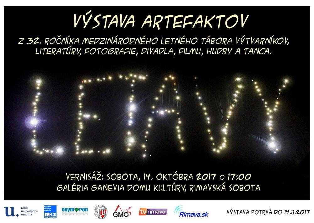 Letavy 2017 - výstava @ Galéria GANEVIA, Dom kultúry Rimavská Sobota | Slovensko