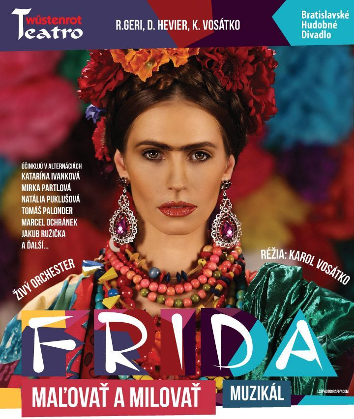 Muzikál FRIDA – Maľovať a milovať @ Divadelná sála Domu kultúry Rimavská Sobota | Slovensko