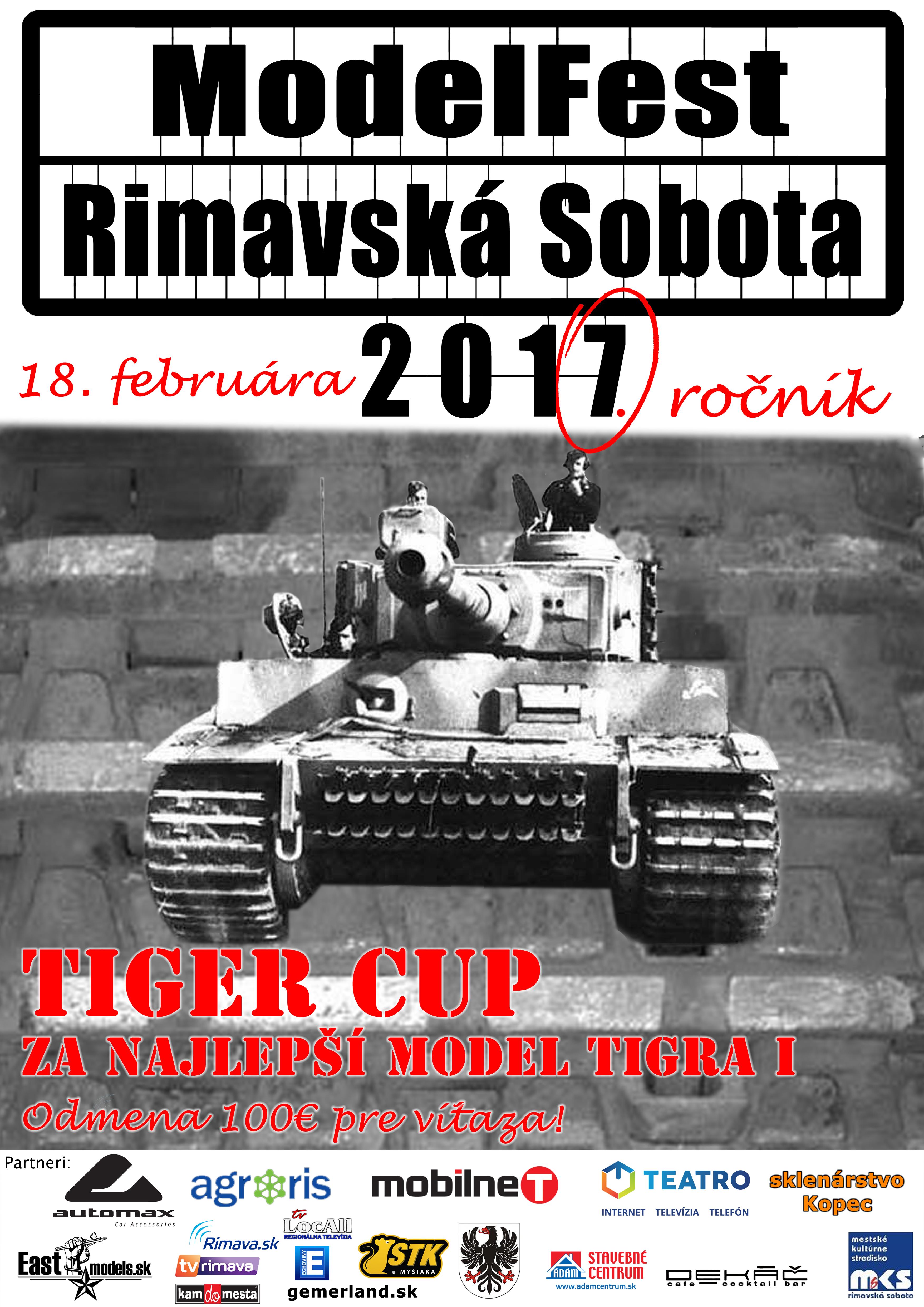 Model Fest Rimavská Sobota @ Mestské kultúrne stredisko Rimavská Sobota