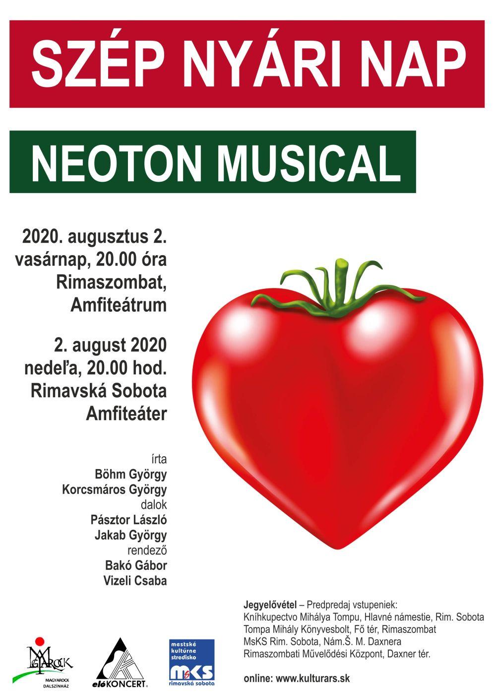 Szép nyári nap (musical) @ Amfiteáter, Rimavská Sobota