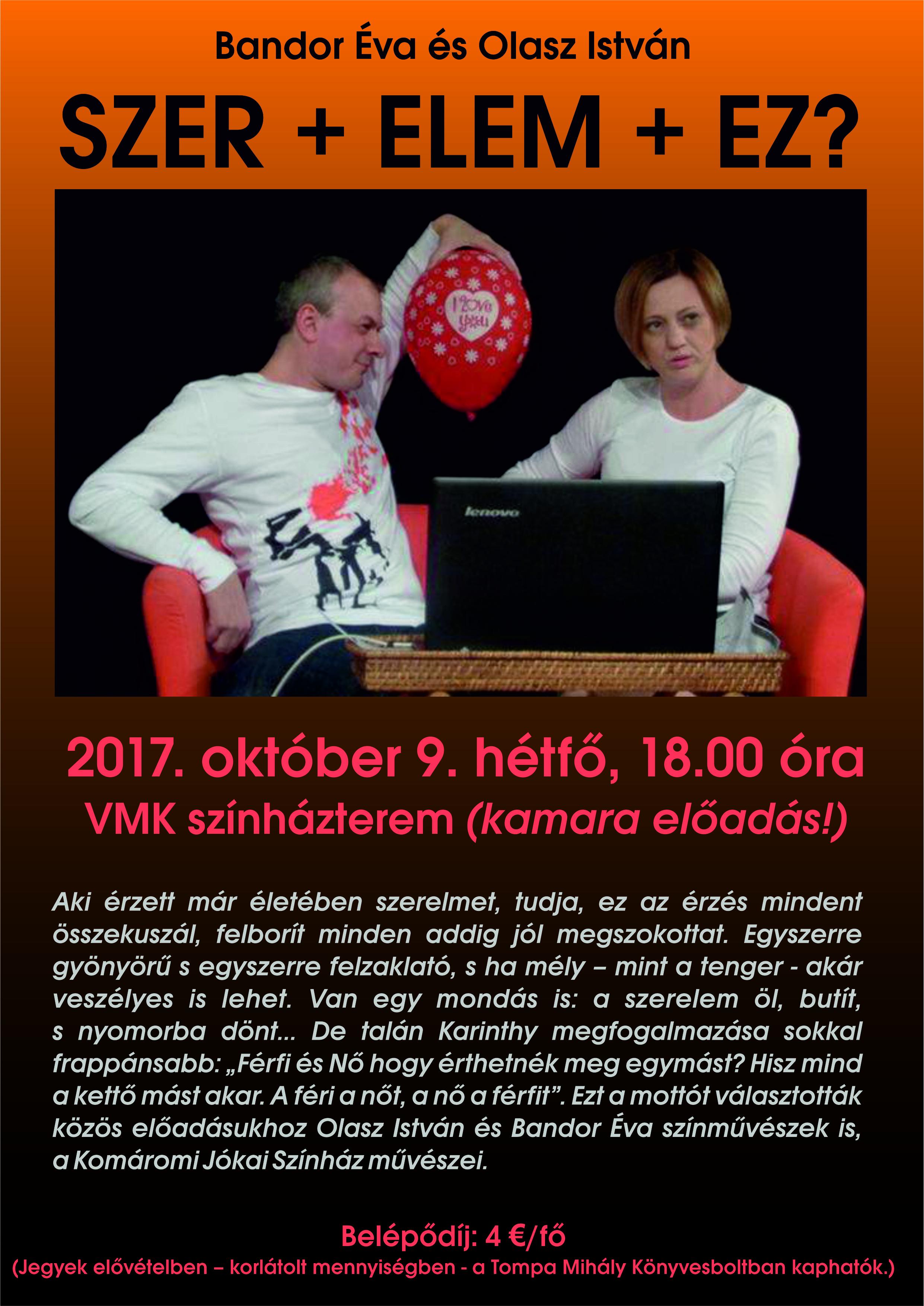 Szer+elem+ez? - divadlo poézie @ divadelná sála DK (javisko) | Banskobystrický kraj | Slovensko