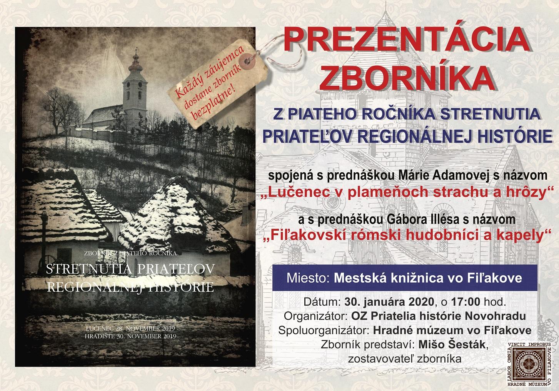 Predstavenie Zborníka z piateho ročníka stretnutia priateľov regionálnej histórie @ Mestská knižnica