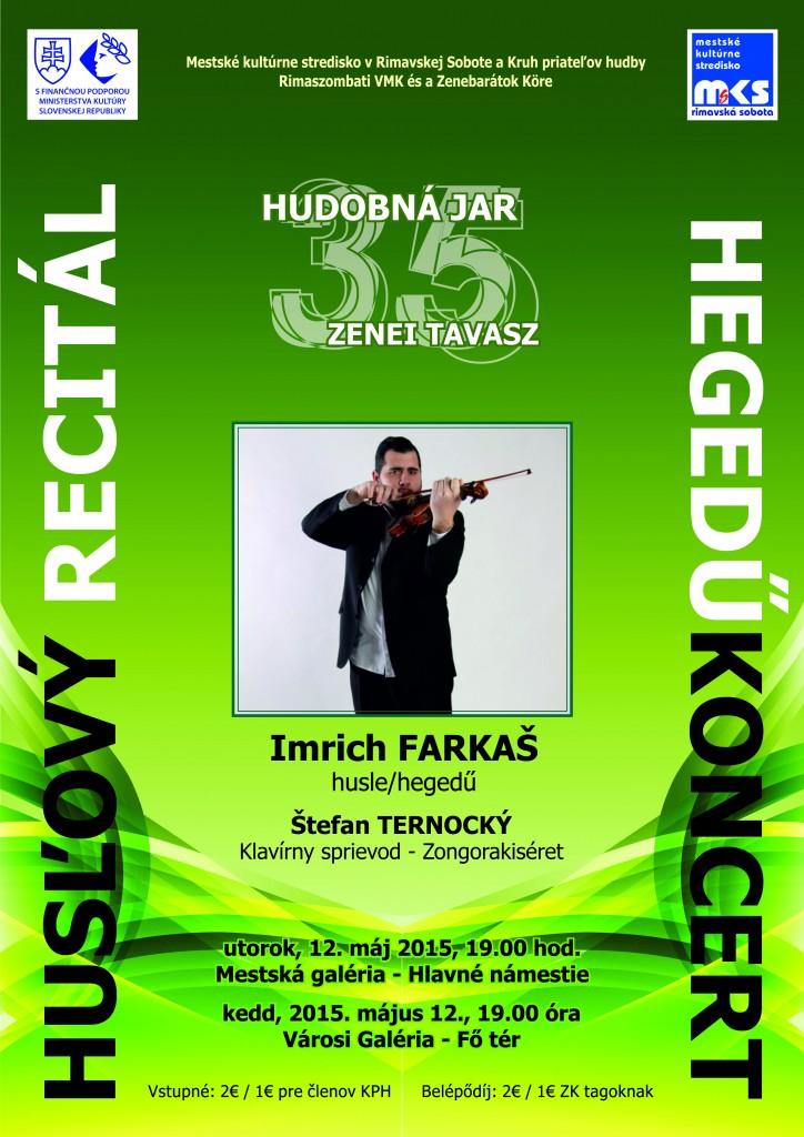 Koncert vážnej hudby - husľový recitál @ Mestská galéria (Hlavné námestie) | Rimavská Sobota | Slovenská republika